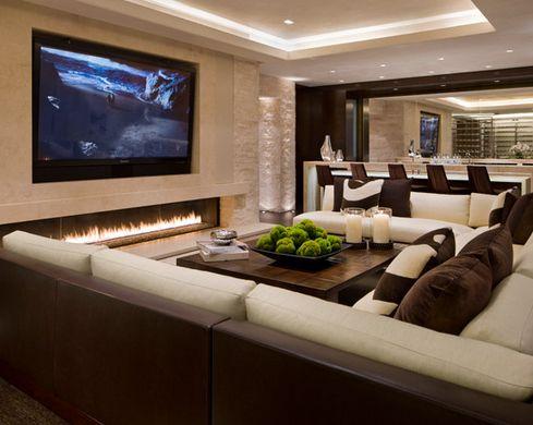 3D Tv | Basement Ideas, Living Room Designs And 3D Tvs