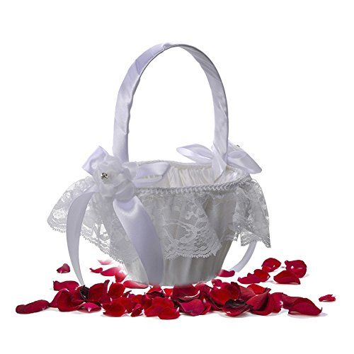 Ringkissen Blumenkorbchen Fur Hochzeiten Aus Pvc Fur Die Hochzeit Gunstig Kaufen Ebay