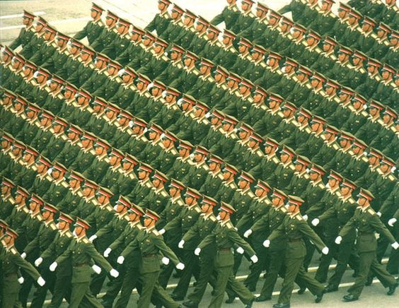 The People's Liberation Army // copy & paste