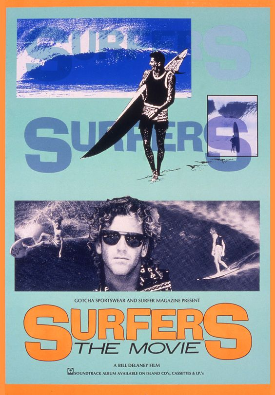 Surfers (the movie) - Poster by Funky