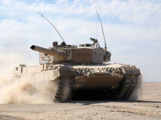 Leopard 2-A4. German Main Battle Tank.