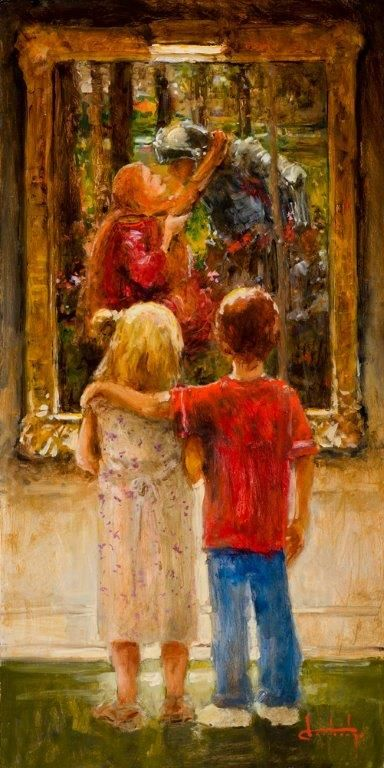 """""""Young Knight"""" by Stephen Shortridge"""
