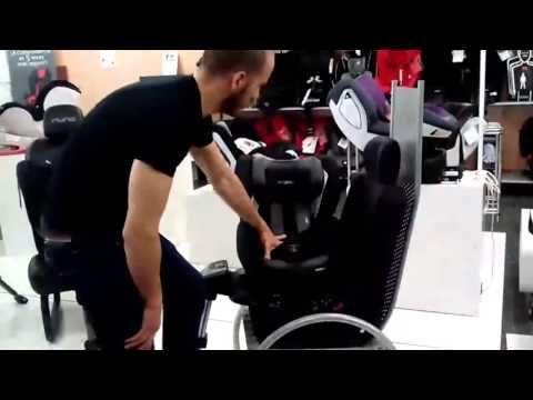 Ninsfactory - Silla de bebé Recaro Zero 1 - YouTube