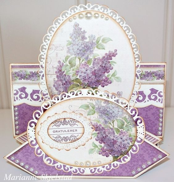 A stunning card by Marianne, featuring the My Precious Daughter collection