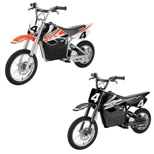 Razor Mx650 Dirt Rocket Ride On Electric Motocross Dirt Bike 1 Orange 1 Black Motorcycle Bike Motorcross Bike