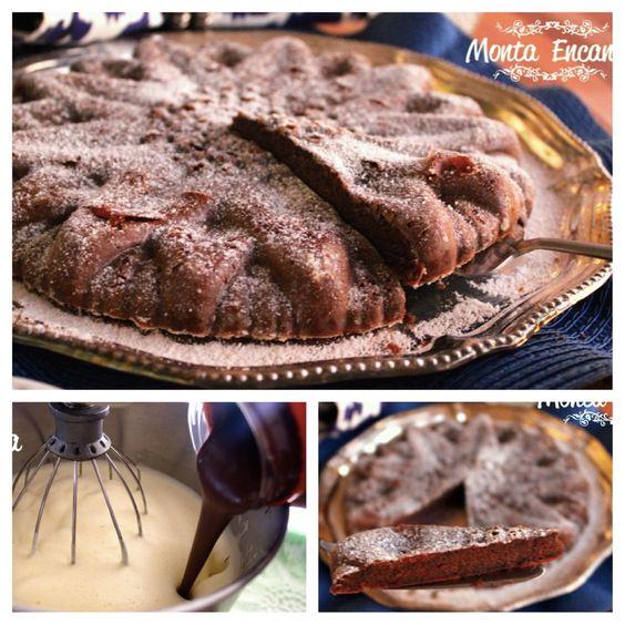 E o que tem de sobremesa  hoje? Tem TORTA DE NUTELLA  só 2 INGREDIENTES  e SEM GLÚTEN. Meio torta, meio brownie, tipo bolo, sabor delicado, simples de mais de fazer e incrivelmente deliciosa. PREPARO 15min Receita completa --> http://www.montaencanta.com.br/sobremesa-2/torta-de-nutella-so-dois-ingredientes/