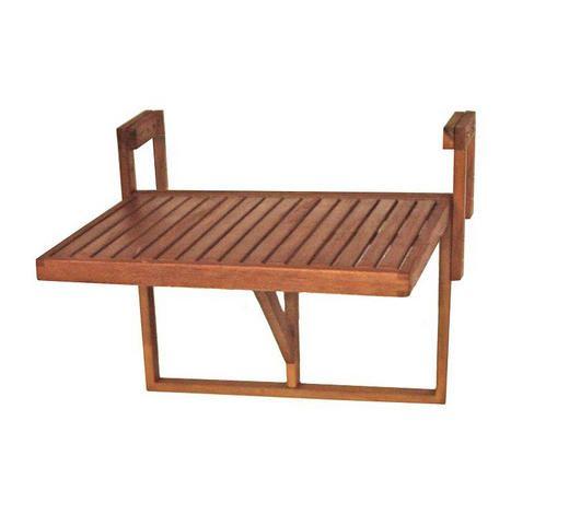 Balkonhangetisch Aus Holz Klappbar Outdoor Komfort Im Naturlichen