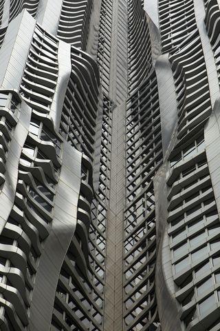 Frank Gehry's 8 Spruce Street in Manhattan