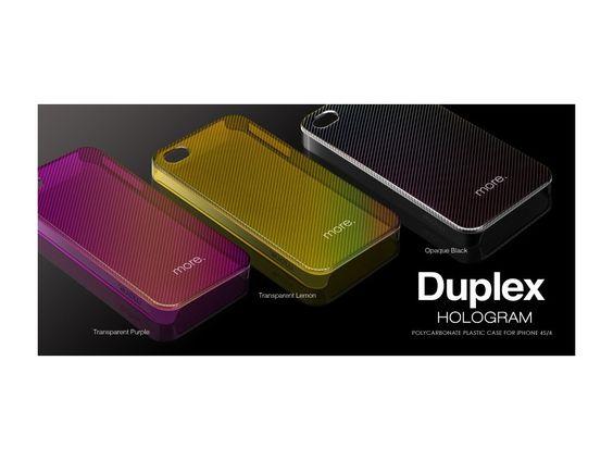 More-Thing Duplex Hologram Collection für #iPhone4S und #iPhone4 bei StyleMyPhone.de