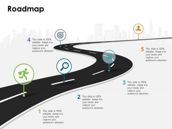 Roadmap Free Powerpoint Slide Powerpoint Template Free Free Powerpoint Templates Download Powerpoint Templates