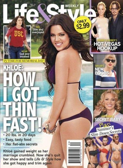 Khloe Kardashian drops 20lbs in 20 days!