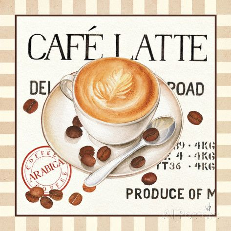 Fresh Coffee I Posters bij AllPosters.nl