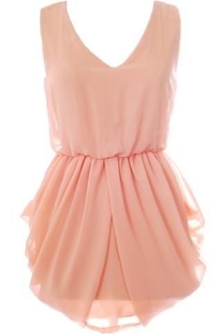 Peach Persuasion Dress #ricketyrack
