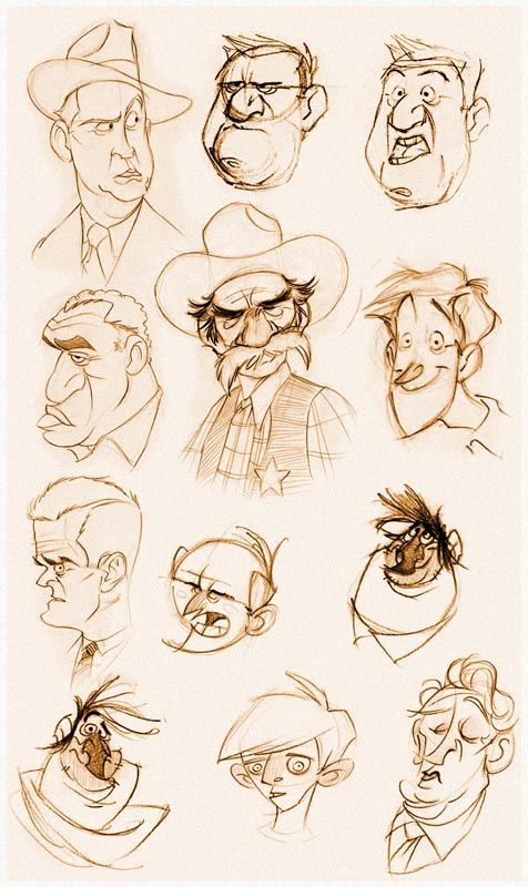 Character Design Library : Character design references and
