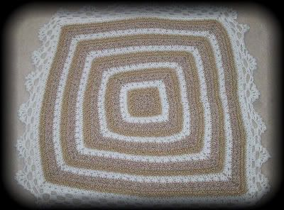 Kandy's Krafts: Crocheted Baby Heirloom Blanket