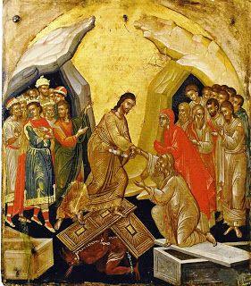 Anastasis, fine XVI sec., 48x42, Venezia, Museo delle Icone