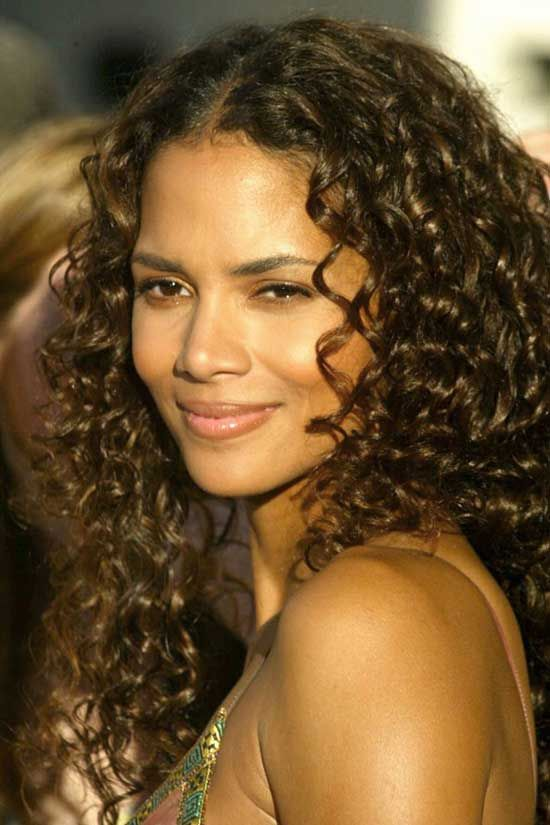 Strange Perms Halley Berry And Perm Hairstyles On Pinterest Short Hairstyles For Black Women Fulllsitofus