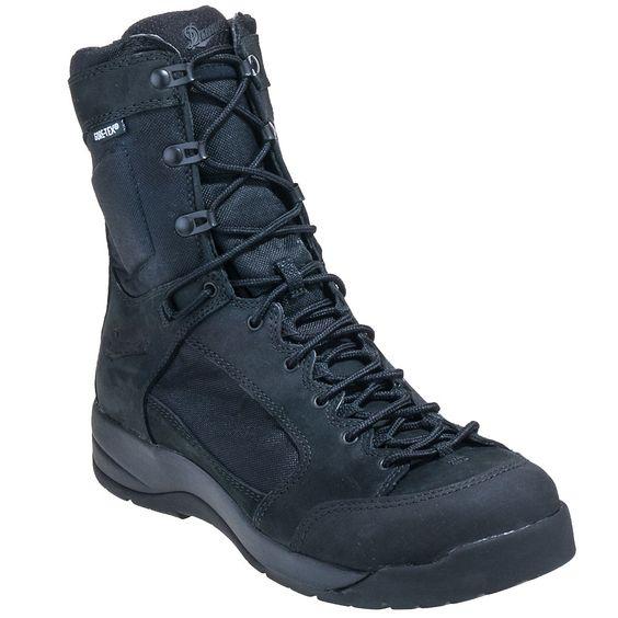 Danner Boots Men's 15404 Black Waterproof Flight Assault 8 Inch ...
