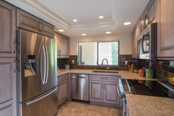 Gray cabinets, Cabinet colors and San diego on Pinterest
