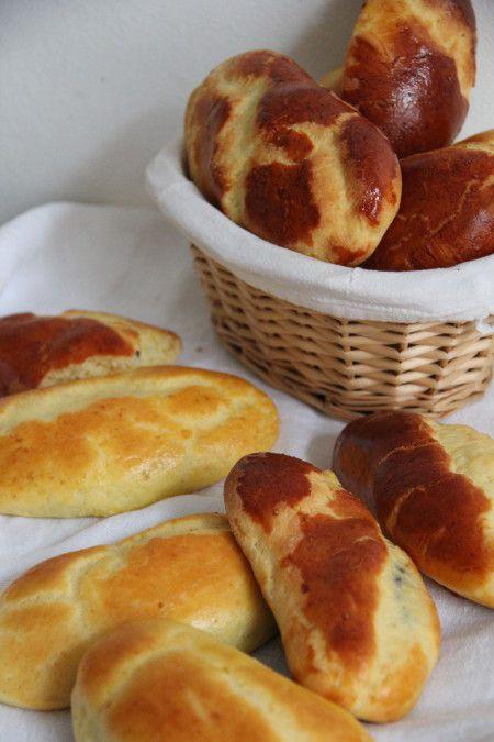 Petits pains au lait et au chocolat de Clémentine et Michel Oliver (sans gluten) - Izakitchen