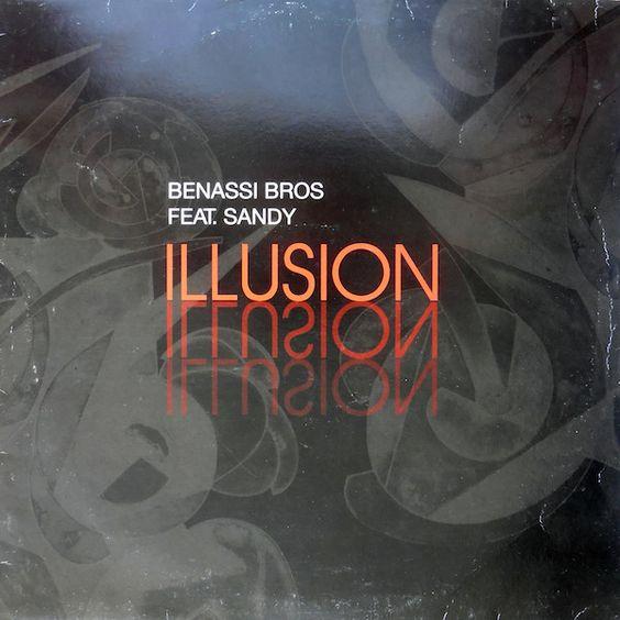 Benassi Bros. & Sandy – Illusion (single cover art)