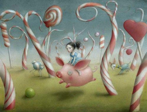 Nicoletta Ceccoli – Fairy tale-like Illustrations
