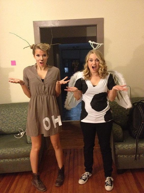 10 diy halloween costumes ceiling fan break out the pom poms oh and dont forget the t shirt that says go ceiling ha get it youre a ceiling fan aloadofball Image collections