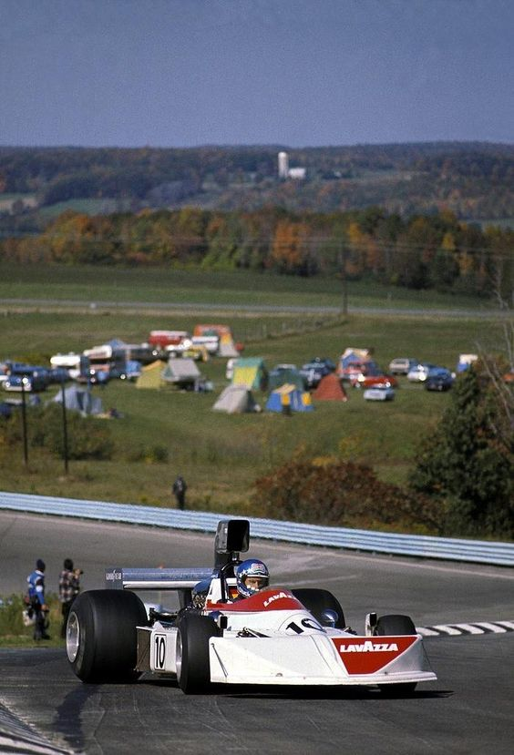 Hans-Joachim Stuck, Lavazza March-Ford 751, 1975 US Grand Prix, Watkins Glen #F1