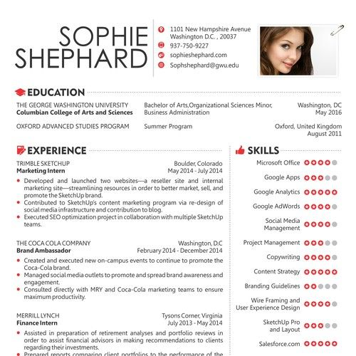 Create A Capturing Resume Other Business Or Advertising Contest