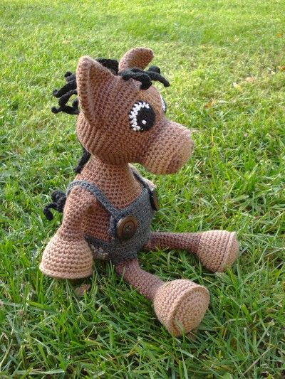 grym hast Amigurumi Pinterest Cute horses, Patterns ...
