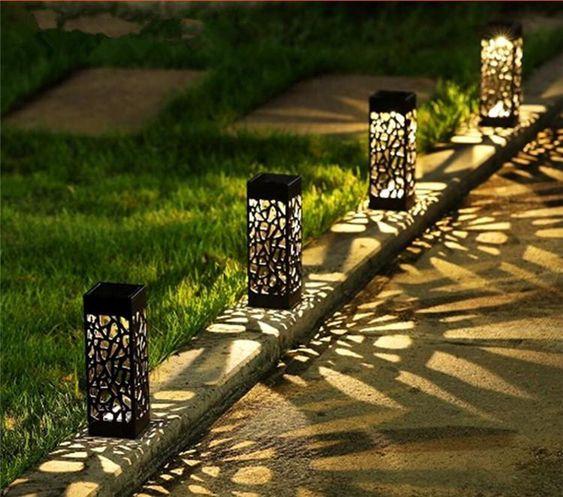Inspirasi Lampu Hias Taman Pola Keren Caratekno