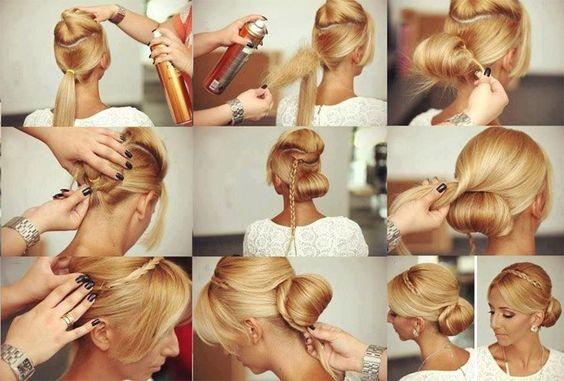 Какие прически можно сделать на средние волосы в …
