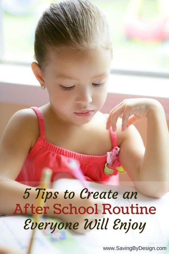 It can be hard to get the kids back into the routine of homework and more structured activities, but that doesn't mean that all of the fun has to disappear. Here are 5 tips for creating an after school routine that will keep everyone's sanity in check as you get back into the swing of things!