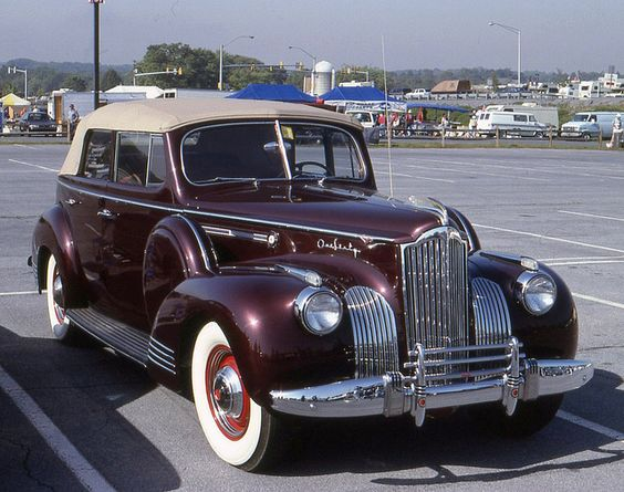 1941 Packard Super 8 160 convertible sedan by carphoto, via Flickr