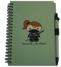 Journal Sneaky Recycled