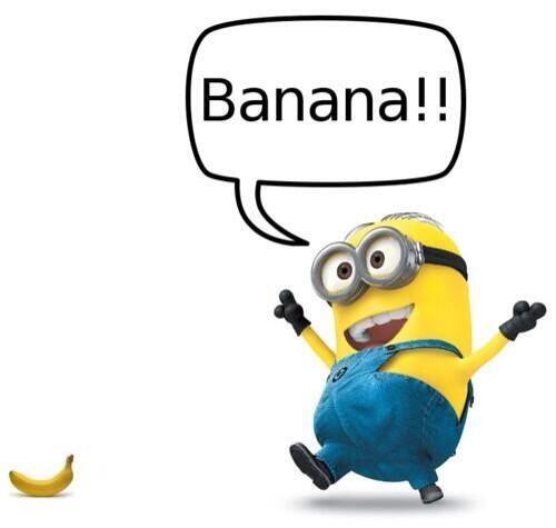 #minions #banana  ®* MiNiOnS * CaRToon*COmICs*MaNGa*ILlusTRAtiON*GeEkS * MaR...