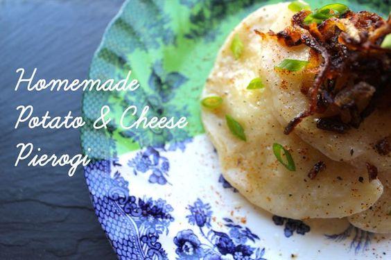 Homemade Potato & Cheese Pierogi