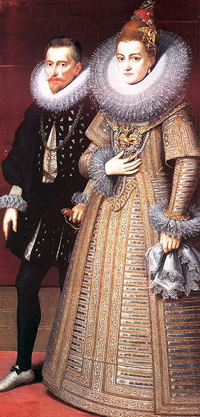 Albrecht of Austria and Isabella Clara Eugenia of Spain, ca. 1599 (Peter Paul Rubens) (1577-1640)
