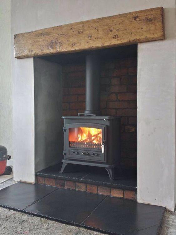 Wood Burner Beams And Woods On Pinterest