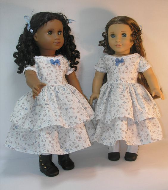 18 Inch Doll Clothes American Girl Marie Grace Cecile Dress 1853-1015