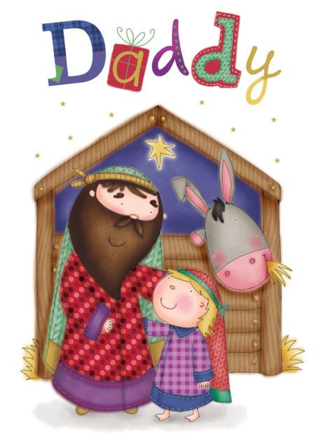 Helen Poole - daddy joseph donkey nativity.jpg:
