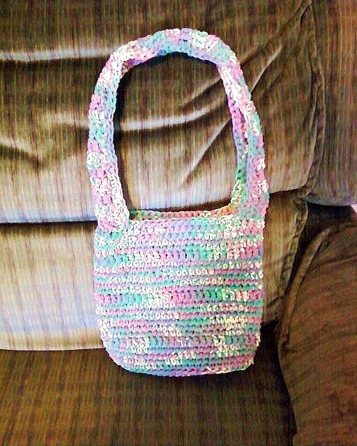 Crochet Granny Square Hobo Bag Pattern : My first hobo bag, crocheted in single crochet with cotton ...