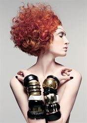 Hair: Mark Hayes & the International Creative Team Color: Peter Dawson & the International Color Team Makeup: Daniel Koleric Photographer: Colin Roy