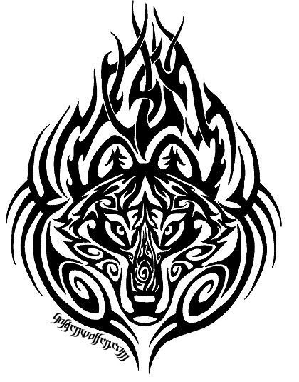 Wolves tribal wolf tattoos and wolf tattoos on pinterest for Ink craft tattoo