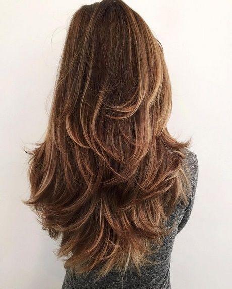 Haar Glatt Langhaarfrisuren Glatte Haare Frisuren Trend