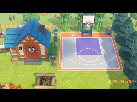 Animal Crossing Qr Code Basketball Court Youtube In 2020 Animal Crossing Qr Animal Crossing Game Animal Crossing