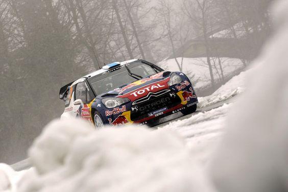 Sebastien Loeb Pictures - FIA World Rally Championship Monte-Carlo
