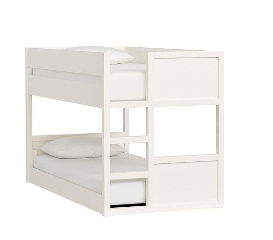 Camden Twin-over-Twin Low Bunk Bed | Pottery Barn Kids | Girls ...