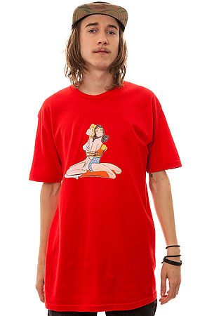 The Bad Luck T Shirt in Red by Waters  use rep code: OLIVE for 20% off!