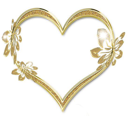 corazones dorados imagenes - Buscar con Google